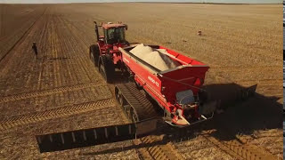 Quentin Acron – AgriSpread and the benefits of adjustment points to get an even spread