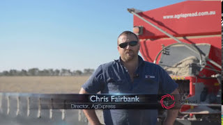Chris Firbank from AgExpress – Spreading Lime